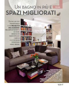 Articolo Cose di Casa via D'Amato a Roma