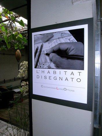 """Inaugurazione della mostra """"L'habitat disegnato"""" di Claudio Corsetti"""
