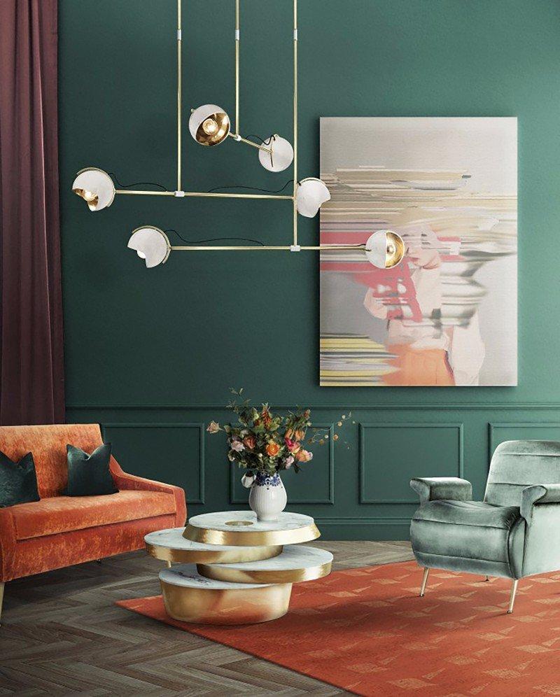 Arredamento Color Petrolio colore nell'interior design: di che colore saremo nel 2019